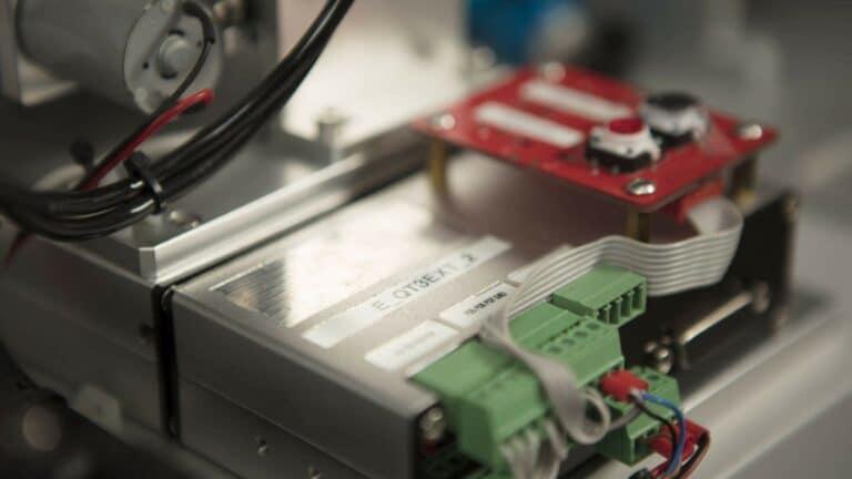 High Precision gear motor mechanism in a FDA medical device