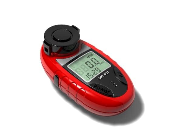 Vibration alert on a toxic gas detector
