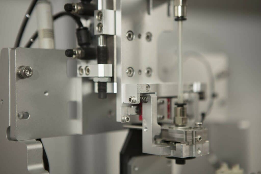 Our customer was challenged in designing a new Food and Drugs Administration (FDA) Class II medical laboratory testing device which required a gear motor mechanism.