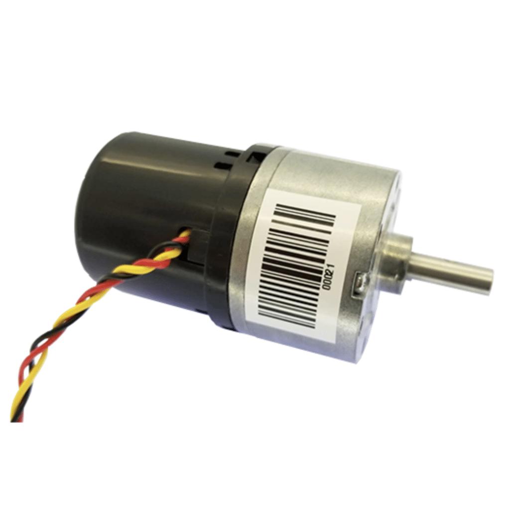Brushless haptic motor used inside the traffic light crossing system.